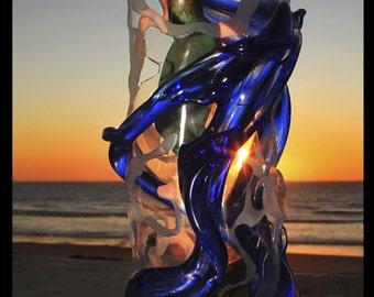 Beauty in Blue Sunset