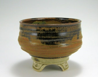 Matcha Tea Bowl, serving bowl, hand-thrown stoneware bowl