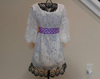 Girlswhite lace Spring Dress