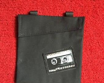 Classic Cassette Tape Hip Bag Retro Fanny Pack 80s Mix Tape Waist Belt Bag