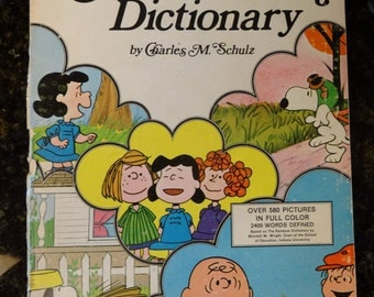 1973 The Charlie Brown Dictionary by Charles M. Schulz