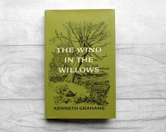 Wind in the Willows, Vintage Book, Children's Book, Kenneth Grahame, Vintage Children's Book, Vintage Fiction, Book Lover Gift, E H Shepherd
