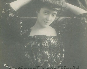 Ekaterina Roschina Insarova Russian theater actress antique photo pc