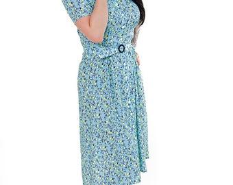 40s blouse dress