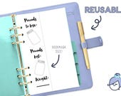 WEIGHT PROGRESS & GOALS - Planner Insert - Planner insert for Small, Medium/Personal and Large A5 Planners Filofax or personal Kikki K