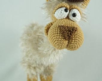 Amigurumi Crochet Pattern - Lolita the Lama