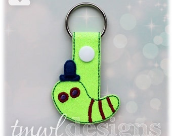 Troll Worm Key FOB Digital Design File