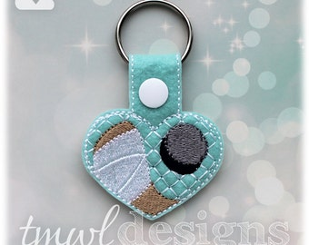 Hockey Heart Key FOB Digital Design File