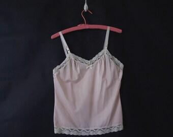 VTG Pink Camisole Sz M