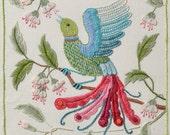 Crewel Embroidery Kit - DAWN CHORUS