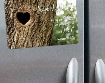 Everlasting - Magnet - Save the Date + Envelopes