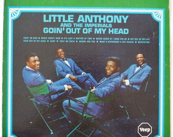 Vintage 60s Little Anthony and the Imperials Goin' Out Of My Head Album Record Vinyl LP