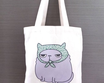 Cat Tote Bag Neko Dorobo Cat Burglar Japanese Tote bag