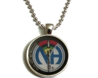 NA 'More Will Be Revealed' Narcotics Anonymous Recovery Necklace