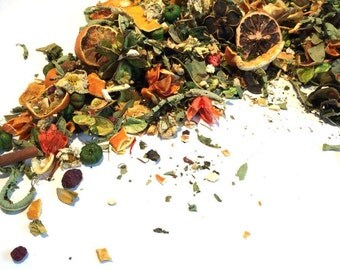 Citrus Potpourri - Oranges - Potpourri - Essential Oils - cranberry - Spiced Orange - cloves - cinnamon sticks