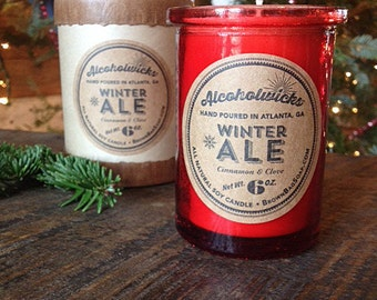 Winter Ale Candle- Winter Ale