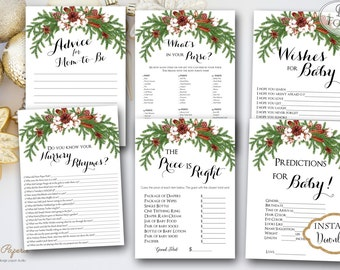 Holiday printable games