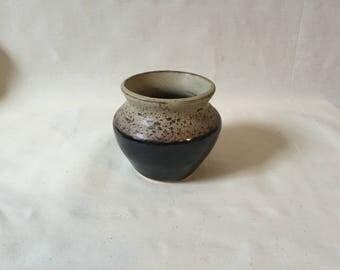Handmade Wheel-Spun Clay Pot