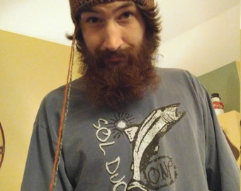 Crocheted Beanie Hat