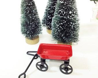Little Red Wagon Fairy Wagon Miniatures