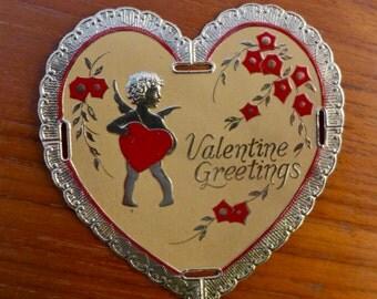Valentine Heart Vintage 1920s