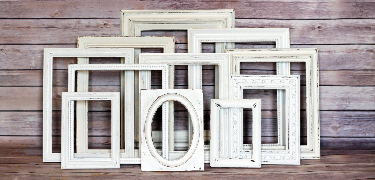 picture frame set rustic wedding ideas picture frames boho wedding decor rustic picture frame gallery wall wedding table decor