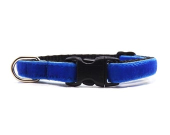 The Softy - Royal Blue | Cat Collar with Bell