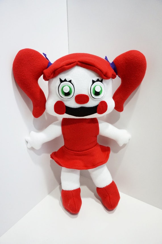 Baby Freddy Toys : Baby plush from sister location inspired by five nights at