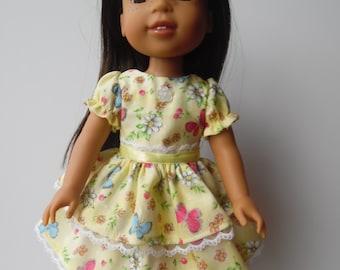 Wellie Wisher Yellow Dress