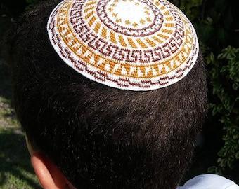 knit kippah, Crochet Kippah, Jewish Kippah, Wedding Yarmulkes, Kids Kippah, Bar mitzvah gift, Jewish Wedding