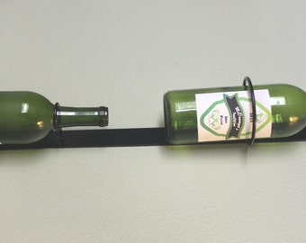 Metal Wine Rack - Wine Bottle Holder - Hanging Wine Rack