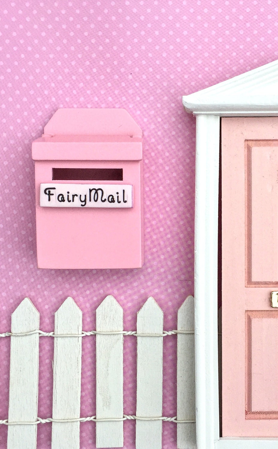 Fairy garden mailbox fairy garden accessories fairy mail for Fairy door kits canada
