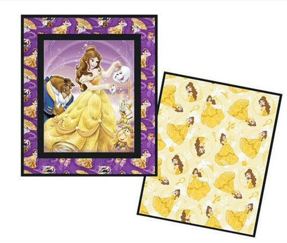 Beauty and the Beast Quilt Only by LannersQuilts