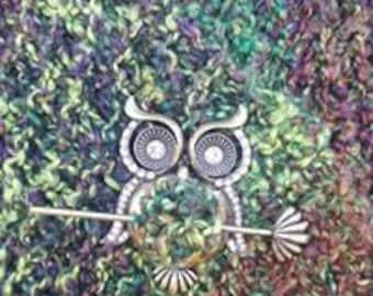 Woodland Owl Shawl