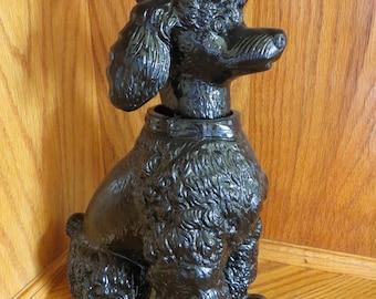 Vintage Lenwile Ardalt Coal Poodle Nodder Bobble Head