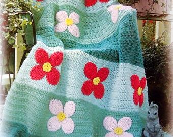 Afghan Sentiments Hardcover Crochet Pattern Book 1998