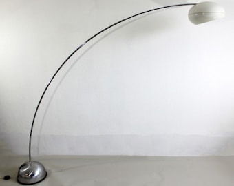arc floor lamp etsy. Black Bedroom Furniture Sets. Home Design Ideas
