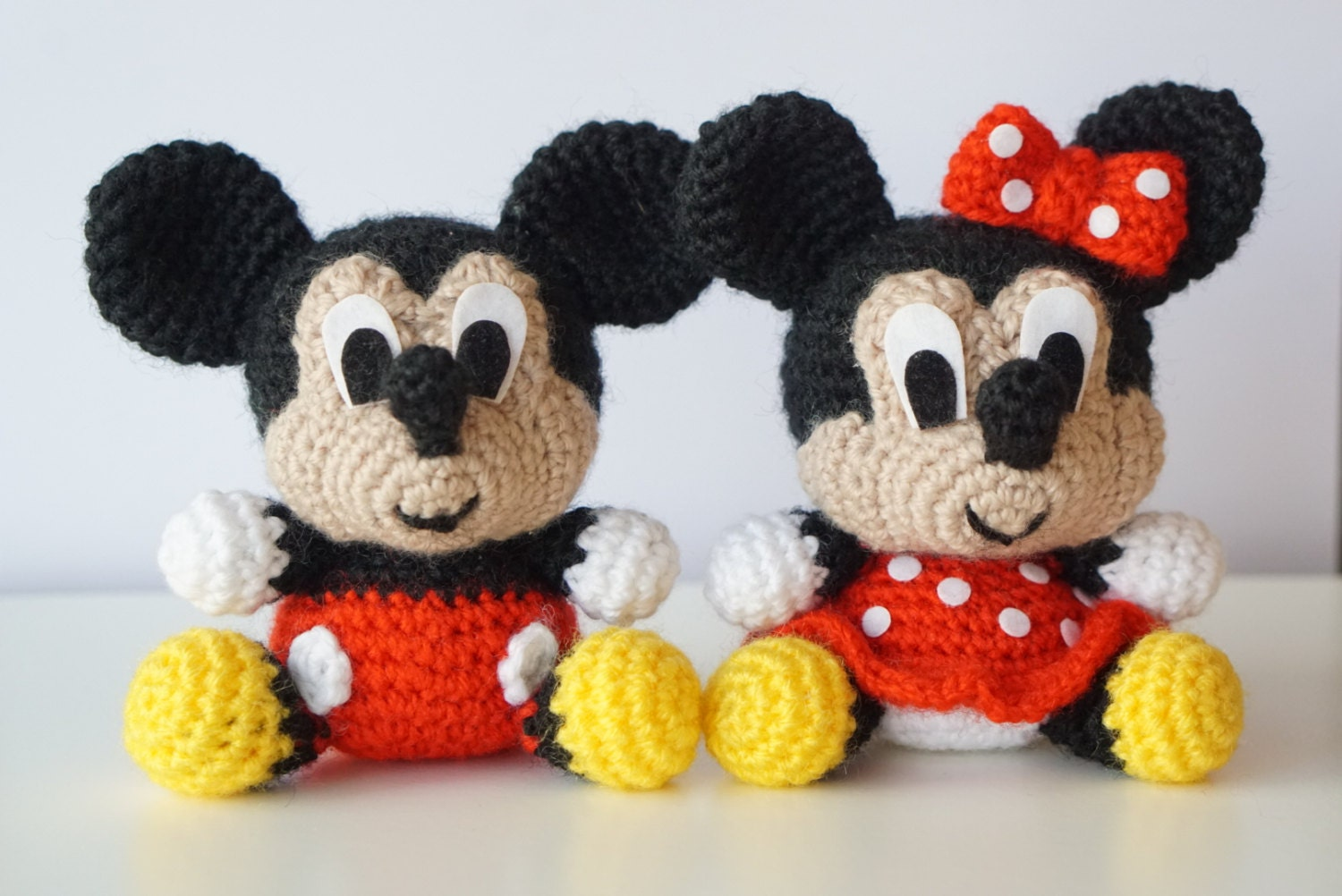 Pack 2 in 1 - Mickey Mouse and Minnie Mouse Disney ...