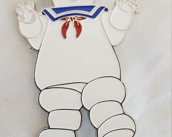Ghostbusters Stay Puft Marshmallow Man Enamel Pin