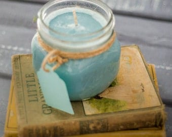 Soy Candle - Soy Wax candle - Baby Powder Candle - Scented Soy Candle - Scented Soy Wax Candle - Jar Candle - Ball Jar Candle - Candle