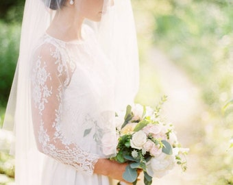 Pearl CZ Studs/ Bridal Earrings Pearls/ Bridal Jewelry/ Bare and Me Bridal Jewelry/ Pearl Stud Earrings/ Statement Pearl Stud Earrings