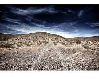 The Road, Death Valley, Desert, Landscape, Travel, Giclée Print, Archival, Photograph, Color
