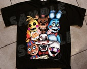 YOUTH - FNAF 2 Tee - Inspired by Five Nights At Freddys