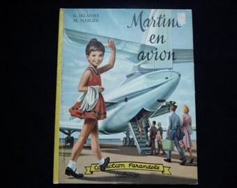 Martine by airmail. Farandole collection. Casterman. 1966 Delahaye. Marlier. Sixties.