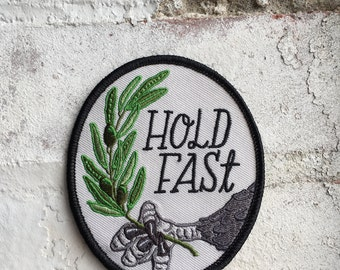 Hold Fast Eagle Patch