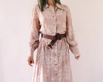 The vintage boho dress from the 60s