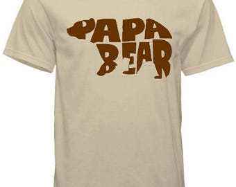 Papa Bear Father's Day Tee