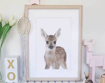 Hello Deer Print