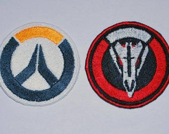 Overwatch & Blackwatch Emblem Cosplay Costume Patch