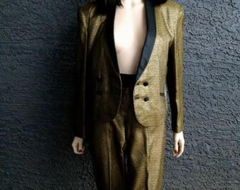 Gold Lame' 1950s Tuxedo